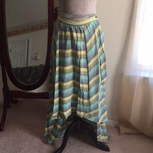 Hi lo skirt